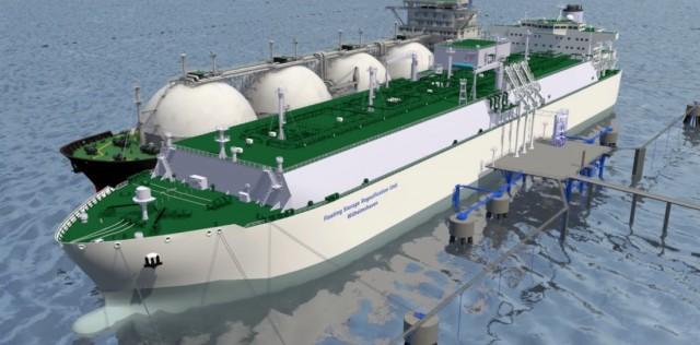 To πρώτο LNG terminal στην Γερμανία έχει σφραγίδα ιαπωνική