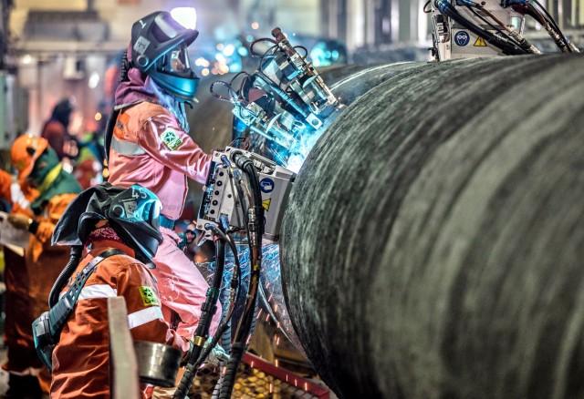 Με ταχείς ρυθμούς οι εργασίες για τον Nord Stream-2