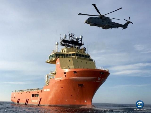 Παραμένουν οι ναυτικές δυνάμεις της Ε.Ε. στην Μεσόγειο