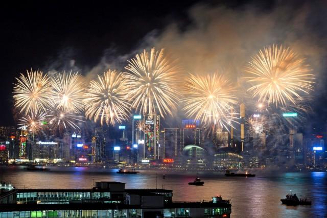 Πρωτοχρονιά στα λιμάνια του κόσμου