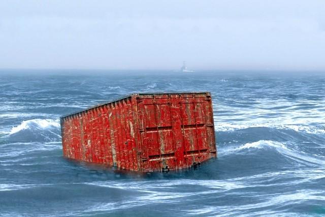 Πτώση δεκάδων containers στη Βόρεια Θάλασσα