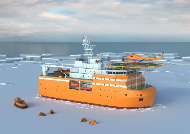 Η πρώτη μόνιμη πλωτή πλατφόρμα εξερεύνησης στην Αρκτική