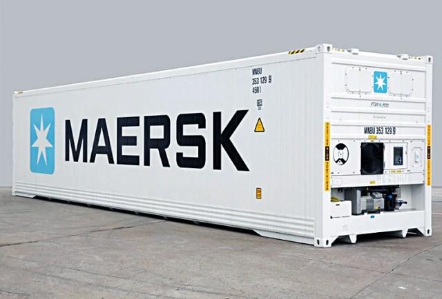 Η Maersk στρέφει το βλέμμα της στα refrigerated containers