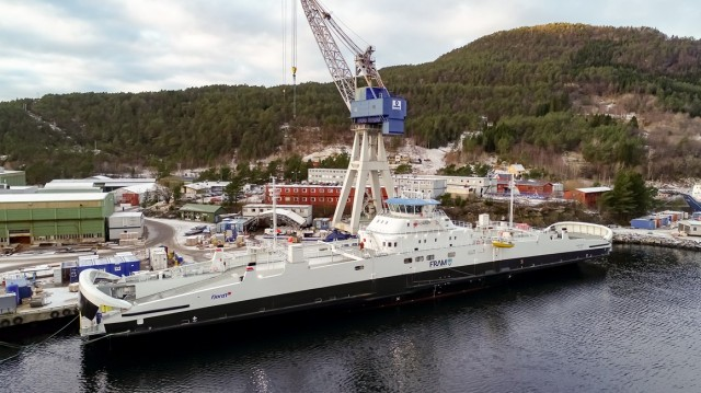 Ένα νέο «ηλεκτρικό» ferry στην Νορβηγία