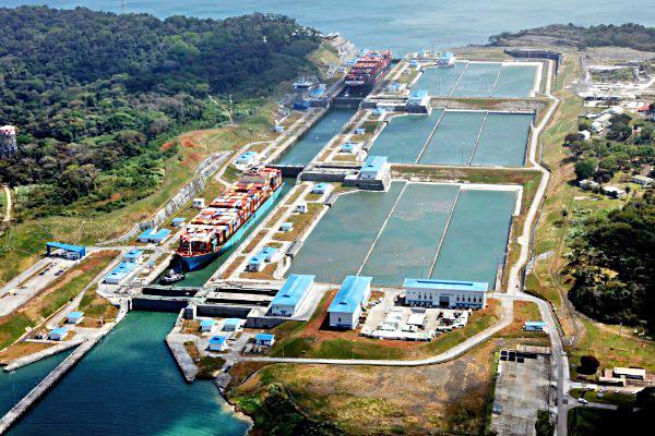 Διώρυγα Παναμά: Νέο μέγιστο επιτρέπομενο όριο βυθίσματος για τα πλοία