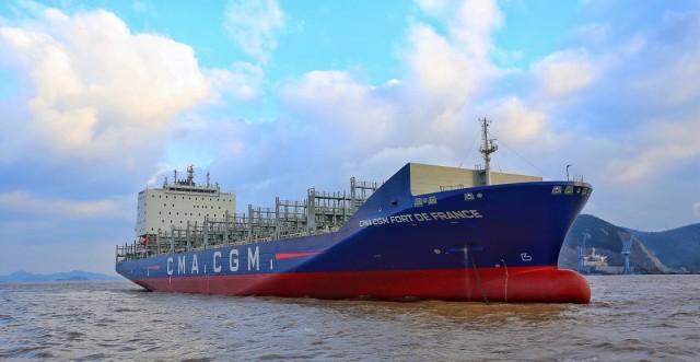 Τέσσερα νέα containerships για την CMA CGM