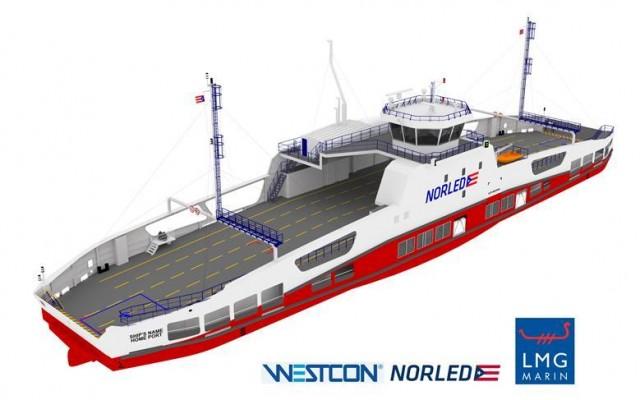 Το πρώτο ηλεκτρικό ferry κατανάλωσης υδρογόνου