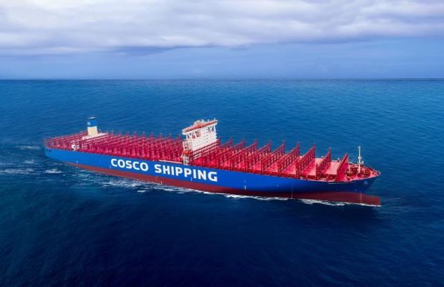 Ένα γιγαντιαίο και «έξυπνο» πλοίο στα χέρια της Cosco
