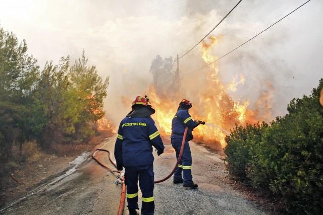 O ελληνικός εφοπλισμός στο πλευρό των πυρόπληκτων της Αττικής