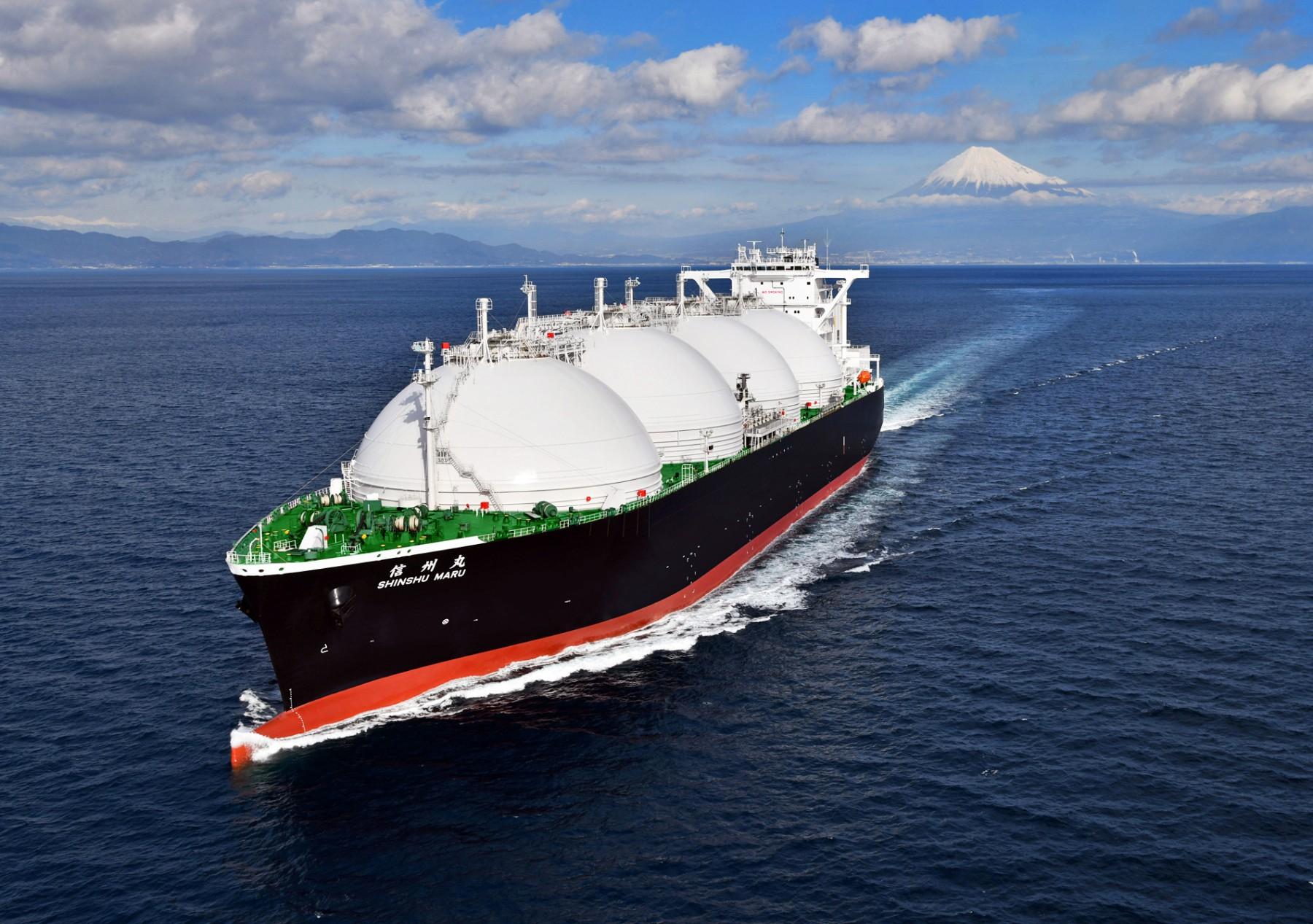 Ένα νέο LNG carrier με ιαπωνική σφραγίδα