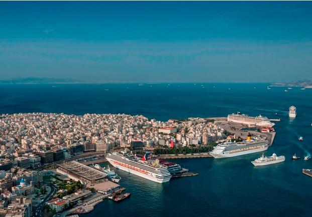 Αξιοσημείωτη αύξηση στις αφίξεις κρουαζιερόπλοιων στο λιμάνι του Πειραιά