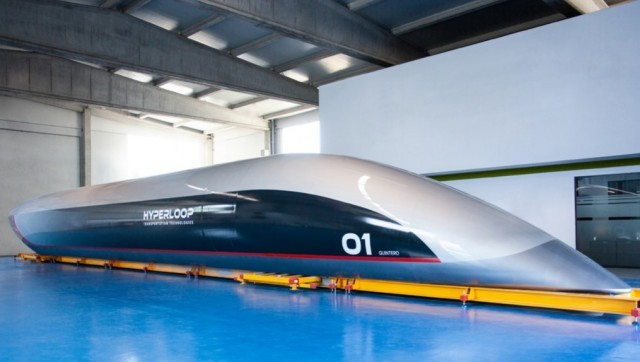 To τρένο- κάψουλα που θα αλλάξει το χάρτη των μεταφορών