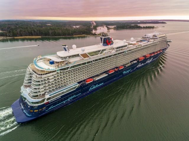 Φωτογραφίες από το νέο κρουαζιερόπλοιο της TUI Cruises