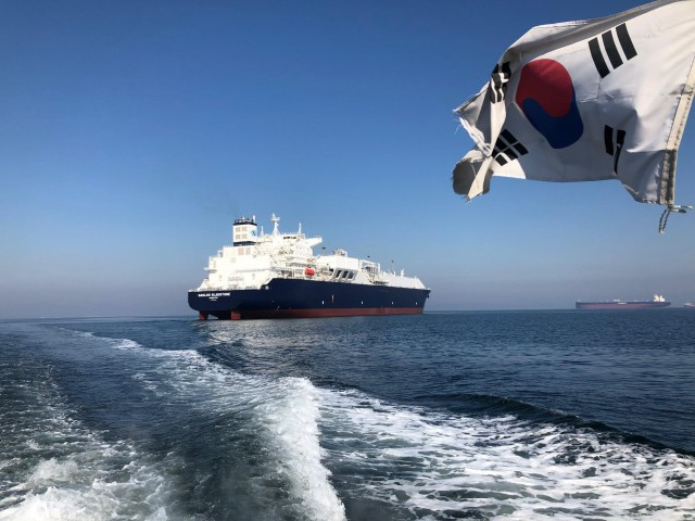 Θαλάσσιες δοκιμές για το νέο πλοίο της GasLog