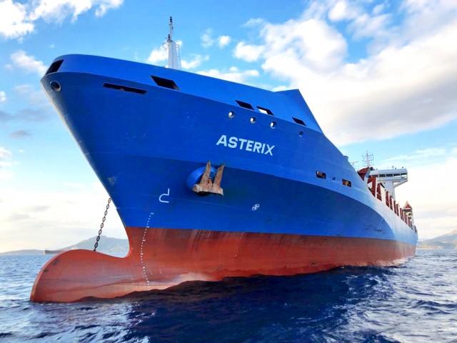 Το πρώτο πλοίο της κοινοπραξίας Capital Liberty Invest