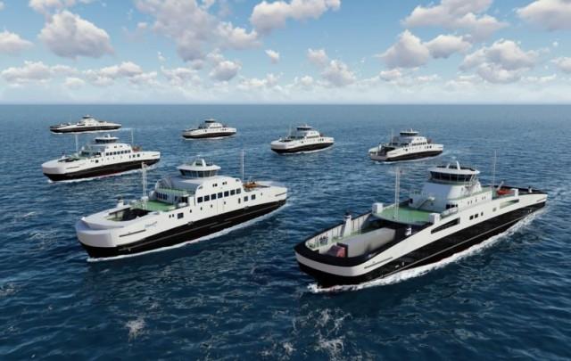 Η Fjord1 εξοπλίζει με συστήματα μπαταριών πέντε νέα πλοία της