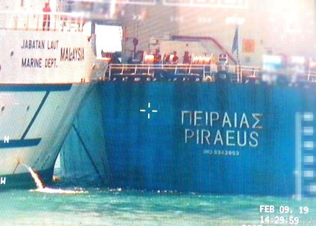 Ελαφρά σύγκρουση πλοίου υπό ελληνική σημαία στην Σιγκαπούρη