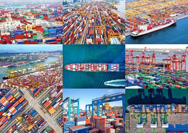 Περιήγηση στα πιο πολυσύχναστα λιμάνια διακίνησης εμπορευματοκιβωτίων