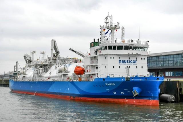Τελετή ονοματοδοσίας για το μεγαλύτερο LNG bunker supply πλοίο στον κόσμο