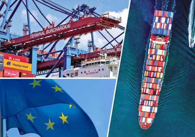 Μειωμένο το εμπορικό πλεόνασμα της Ευρωζώνης το 2018