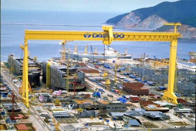 Απεργιακές κινητοποιήσεις στα ναυπηγεία της DSME