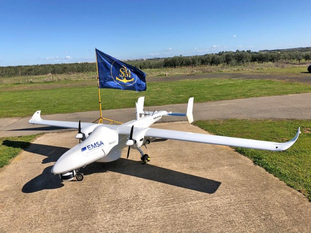 Μη επανδρωμένα αεροσκάφη στη διάθεση της EMSA