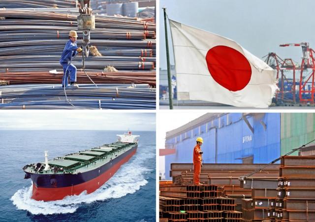 Ιαπωνία: Σε χαμηλά δεκαετίας η παραγωγή χάλυβα