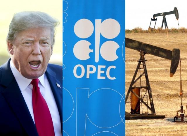 ΟΠΕΚ και Τραμπ διασταυρώνουν τα ξίφη τους για το πετρέλαιο
