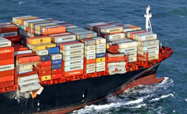 Σύγκρουση containerships στο λιμάνι του Μπουσάν