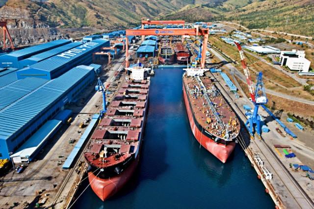 Αναγεννάται από τις στάχτες του το ναυπηγείο Hanjin στις Φιλιππίνες;