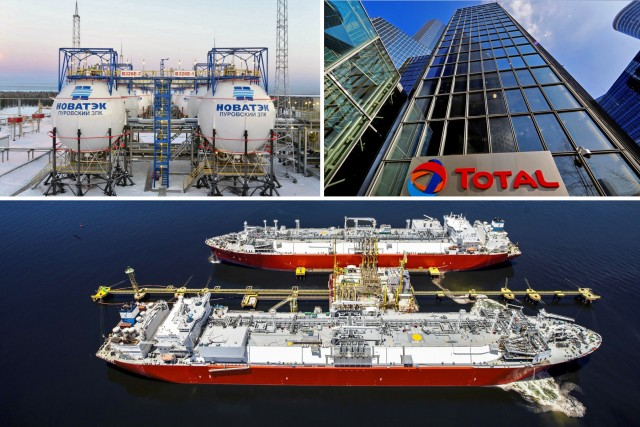 Total: «κλείνει το μάτι» στο Arctic LNG 2