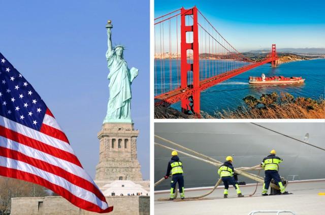 Η συμβολή της ναυτιλίας στην ανάπτυξη της οικονομίας των ΗΠΑ