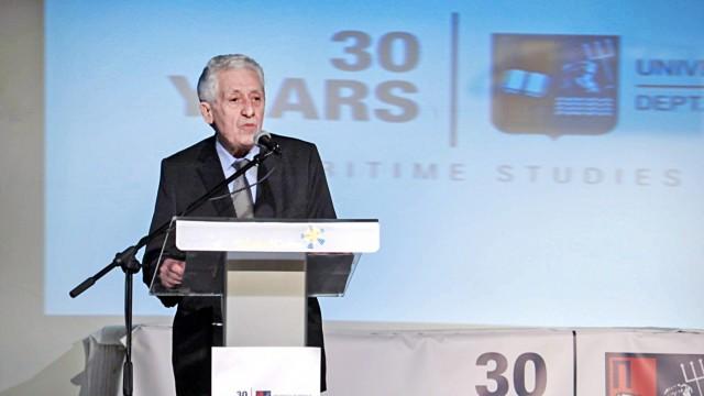 Ο Υπουργός Ναυτιλίας και Νησιωτικής Πολιτικής, κ. Φώτης Κουβέλης έδωσε το παρών στην εκδήλωση.