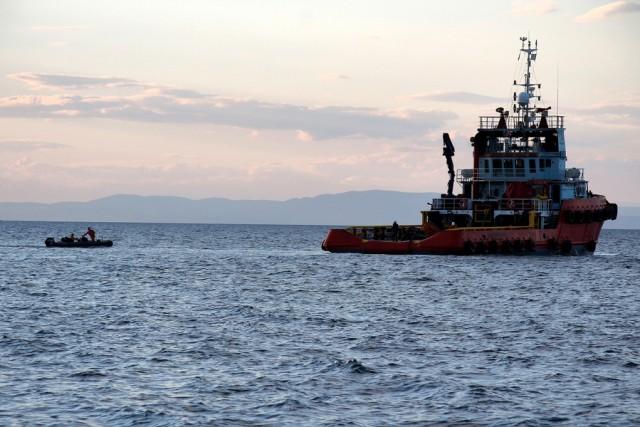 Προσάραξη πλοίου ανοιχτά της Άνδρου