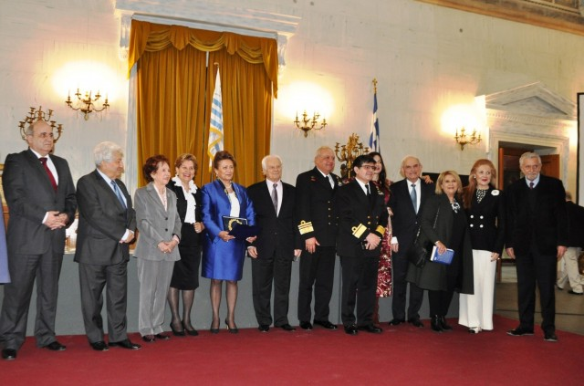 Η Πρόεδρος του Ναυτικού Μουσείου της Ελλάδος βραβεύεται για το έργο της
