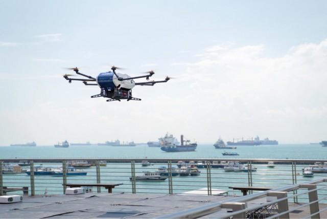 Wilhelmsen-Airbus: Παράδοση αντικειμένων σε πλοία μέσω drones