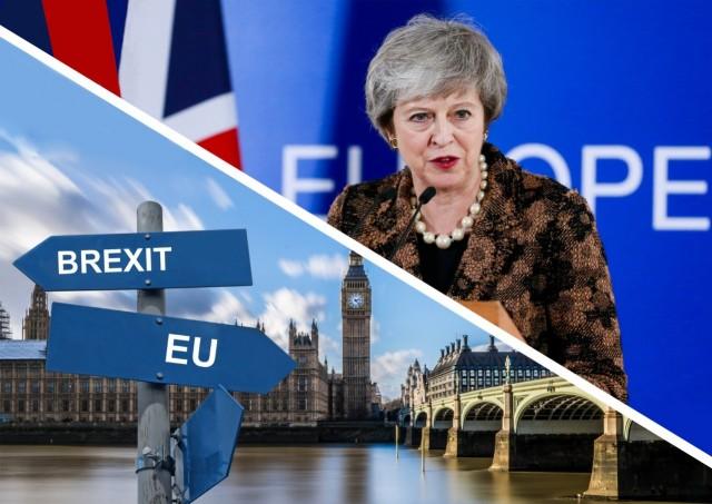 Τριμηνιαία παράταση του Brexit ζητά η Τερέσα Μέι