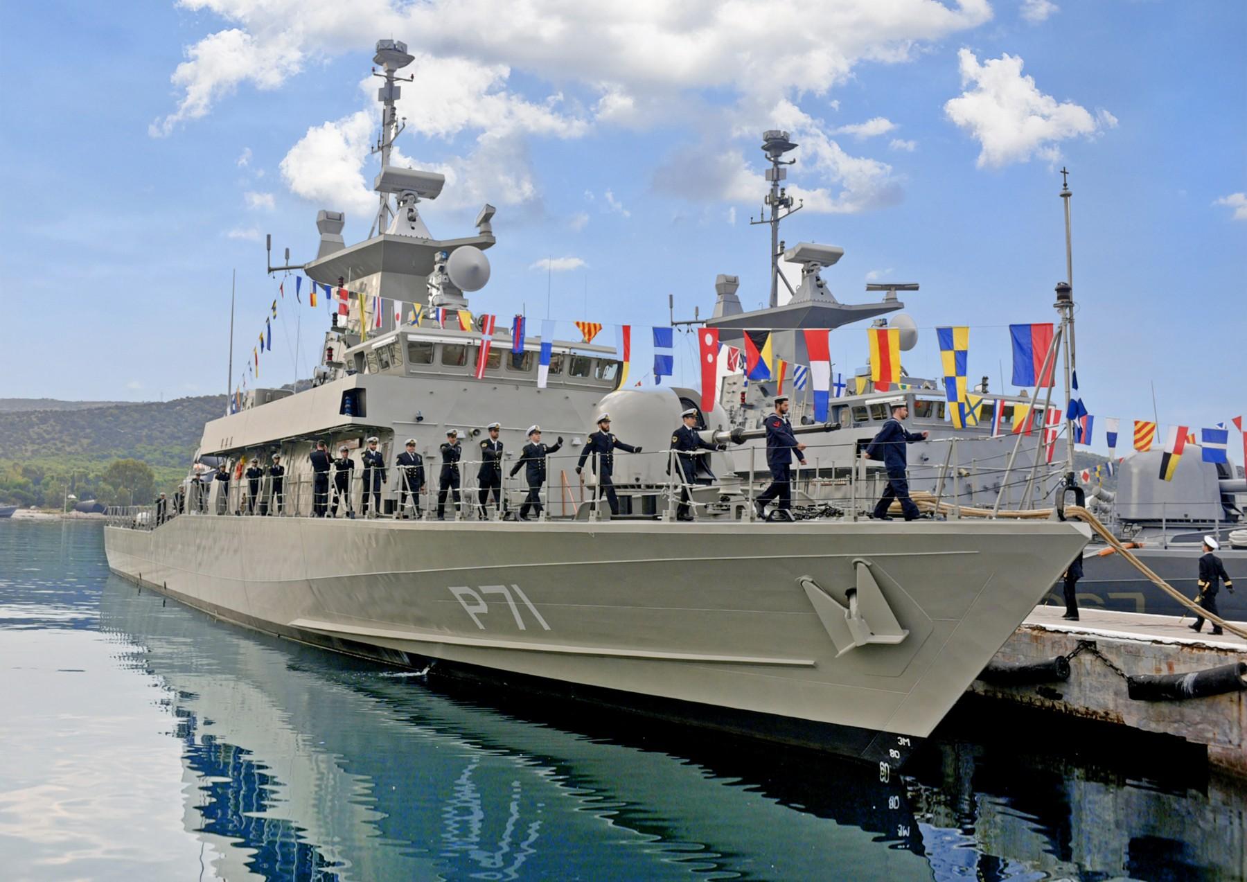 Εορτασμός της 25ης Μαρτίου μαζί με το Πολεμικό Ναυτικό