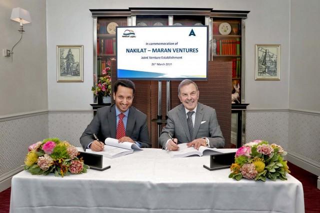 Νέα συμφωνία Maran Ventures – Nakilat