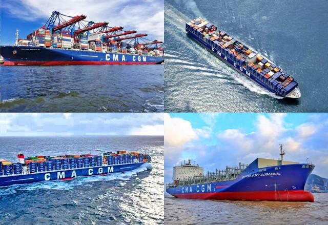 Δέκα νέα eco- friendly πλοία για την CMA CGM