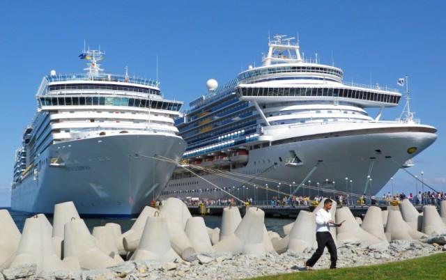 Δύο μεγαθήρια κρουαζιερόπλοια για την Princess Cruises