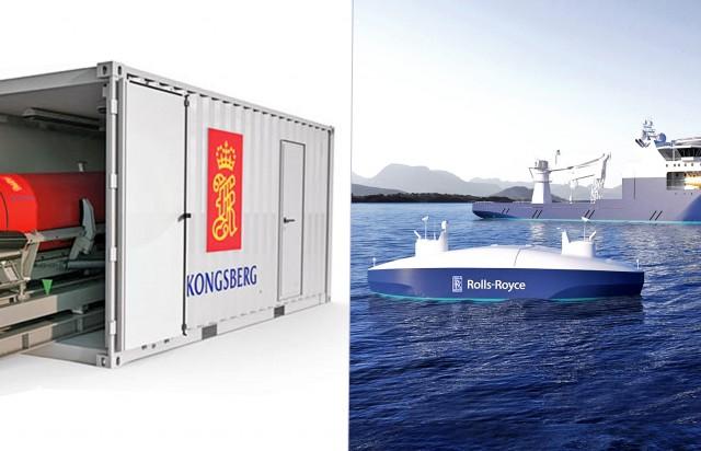 Στα χέρια της Kongsberg Maritime η Rolls-Royce Commercial Marine