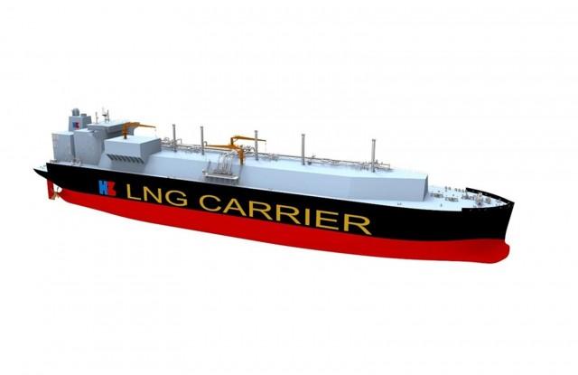 Στα σκαριά το μεγαλύτερο LNG carrier στον κόσμο