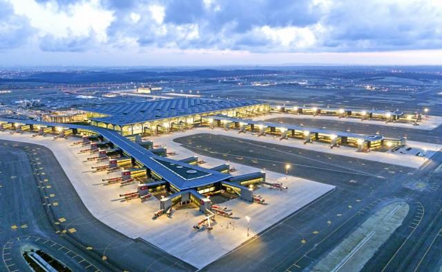 Σε λειτουργία το νέο γιγαντιαίο αεροδρόμιο της Κωνσταντινούπολης