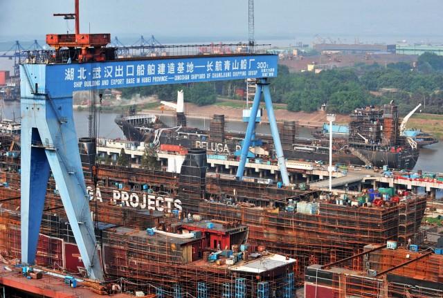 Επιστροφή στη κορυφή για τα κινεζικά ναυπηγεία