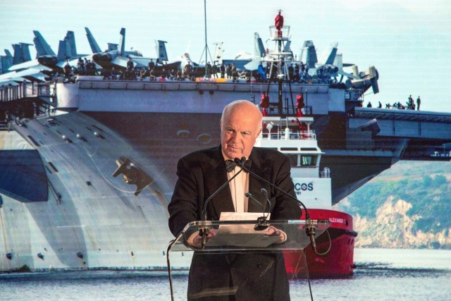 Ο Ν. Βερνίκος τιμάται από το Ελληνοαμερικανικό Εμπορικό Επιμελητήριο