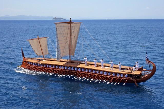 To μεγαλείο των αρχαίων ελληνικών πλοίων