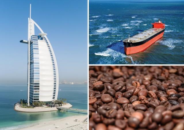 Καφές: Νέες εμπορευματικές ροές μεταξύ Αραβικού Κόλπου και Ν.Αμερικής