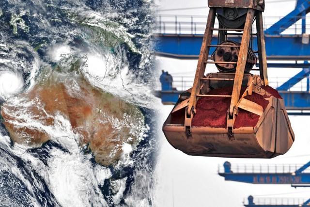 Αυστραλία: Άνω κάτω η αγορά iron ore λόγω του Κυκλώνα «Βερόνικα»