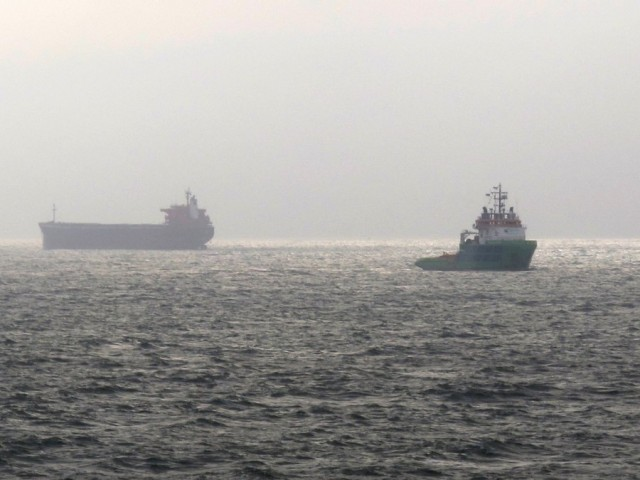 Ακυβέρνητο πλοίο ανοιχτά του Αγαθονησίου
